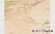 Satellite 3D Map of Bechar