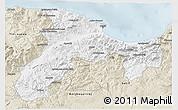 Classic Style 3D Map of Bejaia
