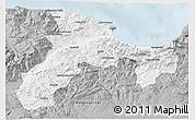 Gray 3D Map of Bejaia