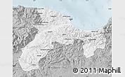 Gray Map of Bejaia