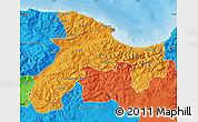Political Map of Bejaia