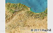 Satellite Map of Bejaia
