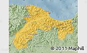 Savanna Style Map of Bejaia