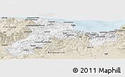 Classic Style Panoramic Map of Bejaia