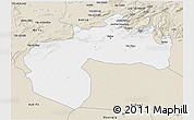 Classic Style 3D Map of Biskra