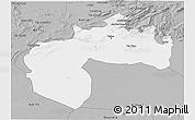 Gray 3D Map of Biskra