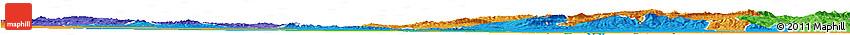 Political Horizon Map of Biskra