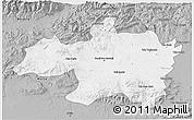 Gray 3D Map of Borjbouarirej