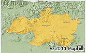 Savanna Style 3D Map of Borjbouarirej