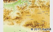Physical Map of Borjbouarirej