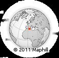 Outline Map of Borjbouarirej