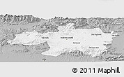 Gray Panoramic Map of Borjbouarirej