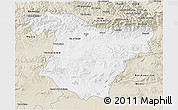 Classic Style 3D Map of Bouira