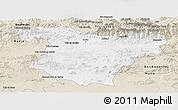Classic Style Panoramic Map of Bouira