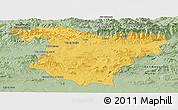 Savanna Style Panoramic Map of Bouira