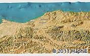 Satellite 3D Map of Boumerdes