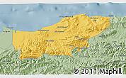 Savanna Style 3D Map of Boumerdes