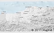 Silver Style 3D Map of Boumerdes