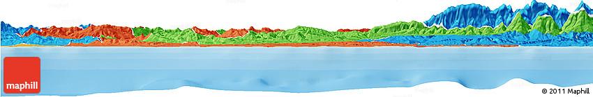 Political Horizon Map of Boumerdes