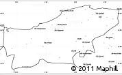 Blank Simple Map of Boumerdes