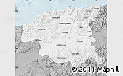Gray Map of Chlef