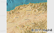 Satellite Map of Chlef