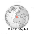 Outline Map of Chlef