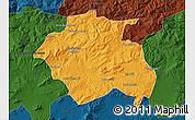 Political Map of Constantine, darken