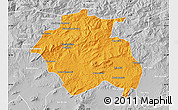 Political Map of Constantine, lighten, desaturated