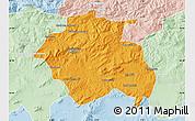 Political Map of Constantine, lighten