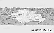 Gray Panoramic Map of Constantine