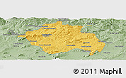 Savanna Style Panoramic Map of Constantine