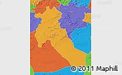 Political Map of Djelfa