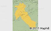 Savanna Style Map of Djelfa