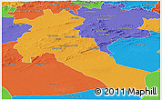 Political Panoramic Map of Djelfa