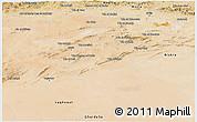 Satellite Panoramic Map of Djelfa
