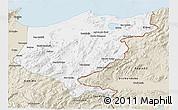 Classic Style 3D Map of El Tarf