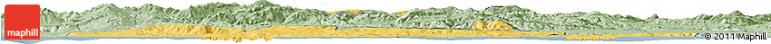 Savanna Style Horizon Map of El Tarf