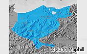 Political Map of El Tarf, desaturated