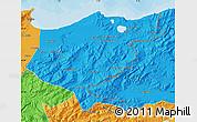 Political Map of El Tarf