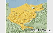 Savanna Style Map of El Tarf