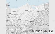 Silver Style Map of El Tarf