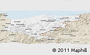 Classic Style Panoramic Map of El Tarf