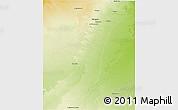 Physical 3D Map of GhardaSa
