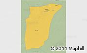 Savanna Style 3D Map of GhardaSa