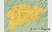 Savanna Style Map of Guelma