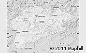Silver Style Map of Guelma