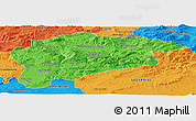 Political Panoramic Map of Guelma