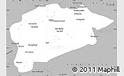 Gray Simple Map of Guelma