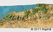 Satellite 3D Map of Jijel